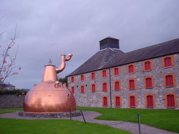 Midleton distillery, Ireland, 2004