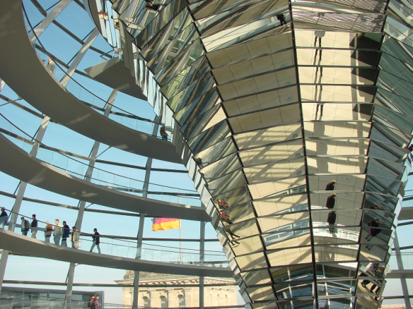 Reichsstag, Berlin. Does Germany sometimes forget we're all in it together?